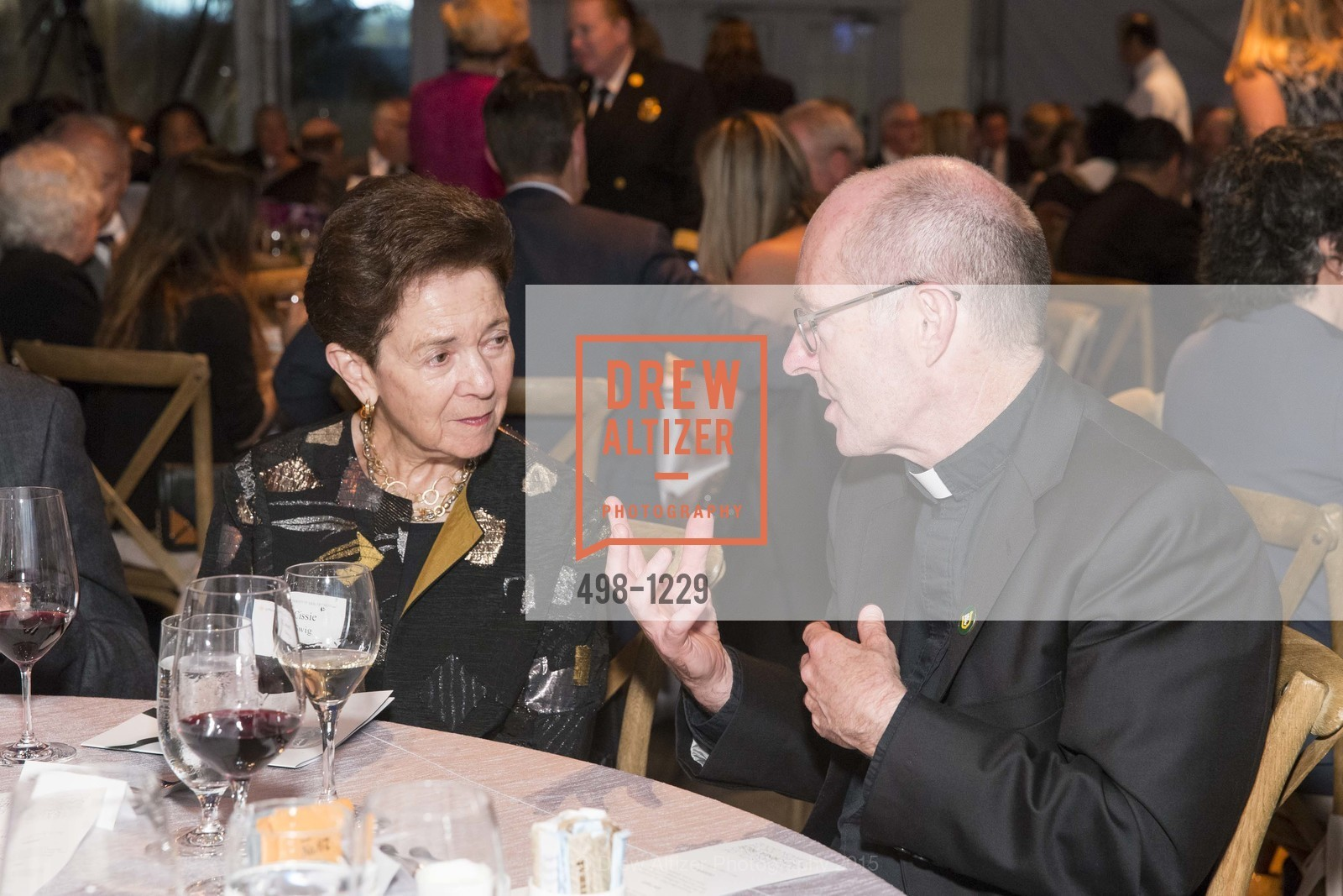 Cissie Swig, Father Paul Fitzgerald, Photo #498-1229
