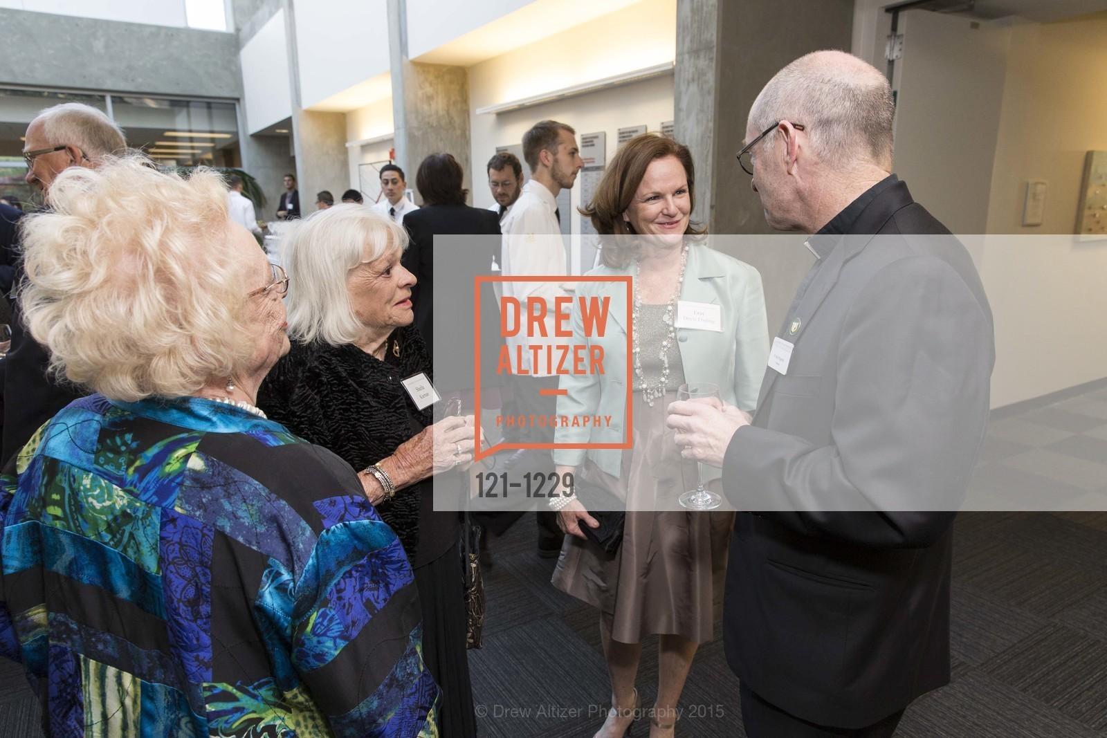 Brenda Jeffers, Sheila Kiernan, Erin Doyle Ebeling, Father Paul Fitzgerald, Photo #121-1229