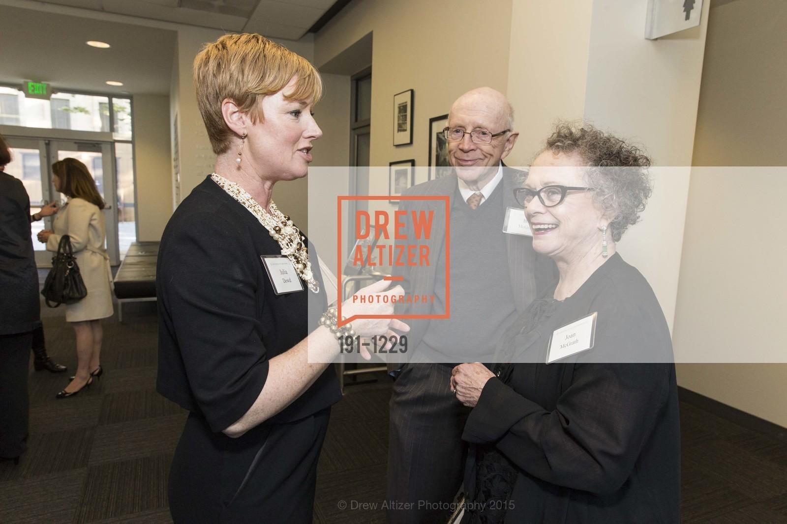 Julie Dowd, Bob McGrath, Joan McGrath, Photo #191-1229