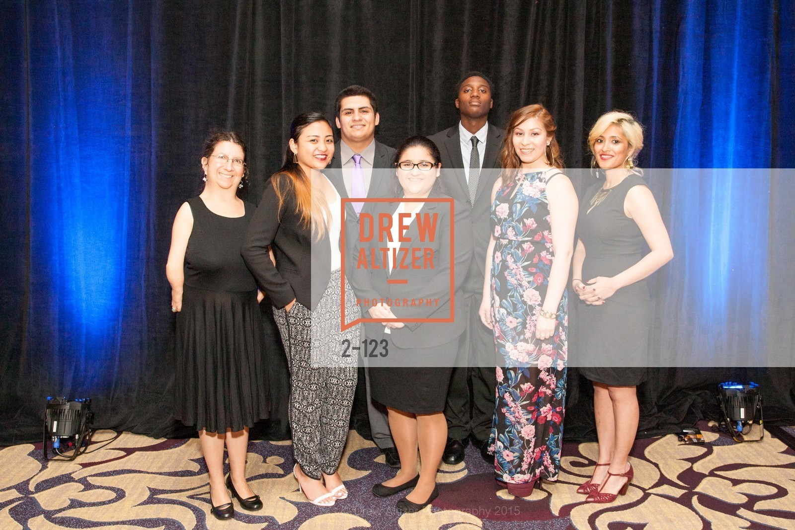 Jennifer Berger, Aeris Velasco, Joe Armijo, Carmen Sosa, Khari Brown, Yuri Huerta, Natasha Alani, 2015 Boys and Girls Club Annual Gala, The Fairmont San Francisco. 950 Mason St, May 20th, 2015,Drew Altizer, Drew Altizer Photography, full-service event agency, private events, San Francisco photographer, photographer California