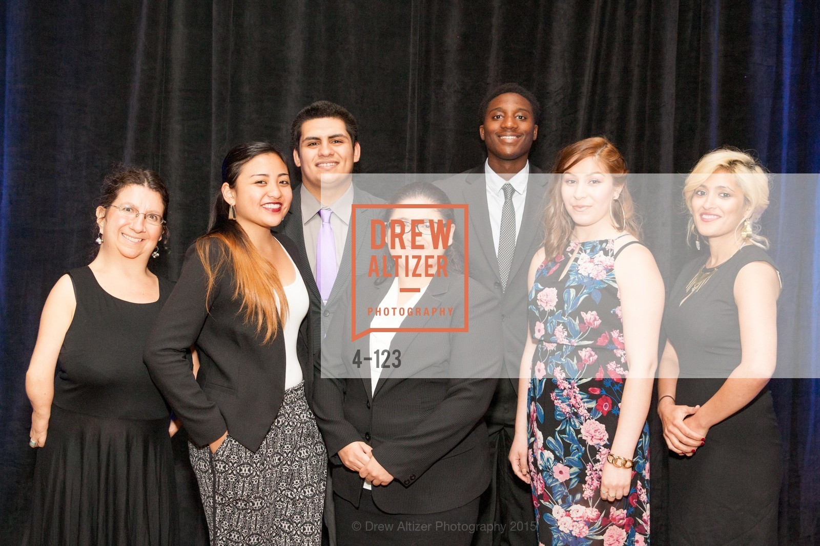 Jennifer Berger, Aeris Velasco, Joe Armijo, Carmen Sosa, Khari Brown, Yuri Huerta, Natasha Alani, 2015 Boys and Girls Club Annual Gala, The Fairmont San Francisco. 950 Mason St, May 20th, 2015,Drew Altizer, Drew Altizer Photography, full-service agency, private events, San Francisco photographer, photographer california