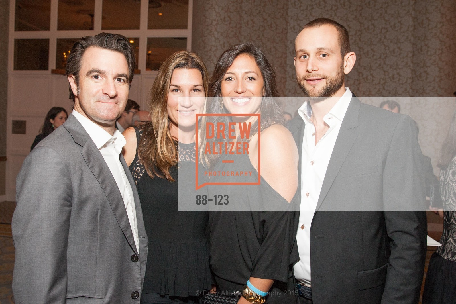 Quincy Smith, Kat Hontes, Kelly Flannery, Tim Kovak, 2015 Boys and Girls Club Annual Gala, The Fairmont San Francisco. 950 Mason St, May 20th, 2015,Drew Altizer, Drew Altizer Photography, full-service agency, private events, San Francisco photographer, photographer california