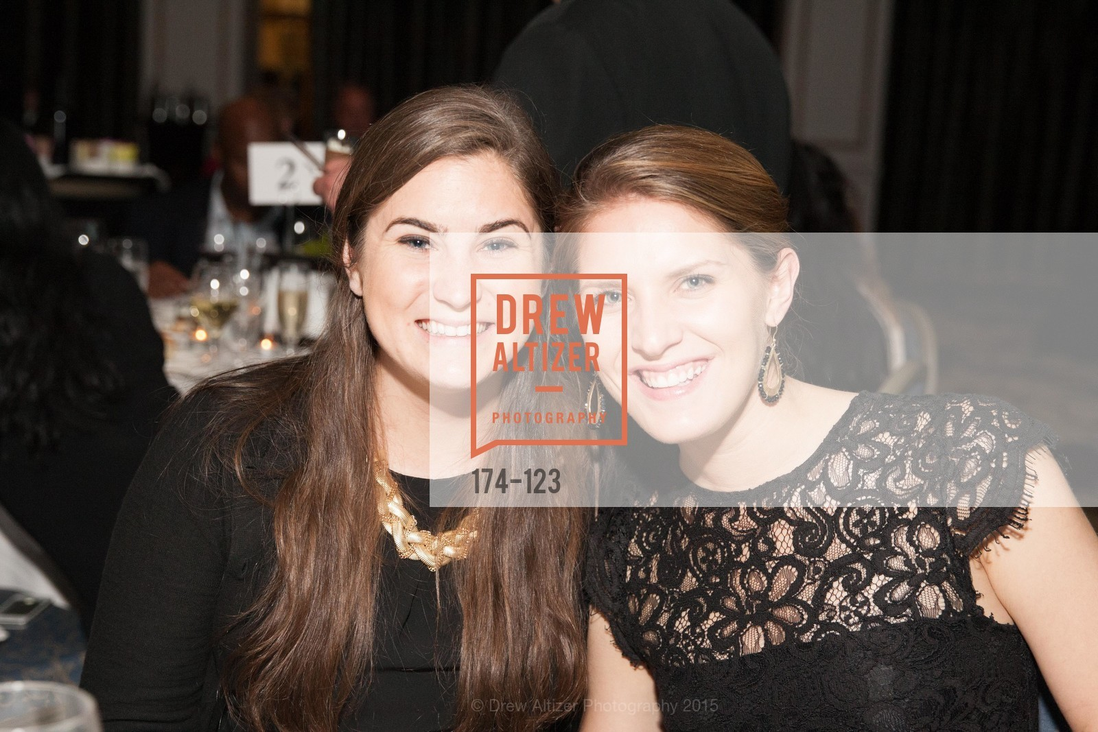 Megan Aries, Meredith Altenhofen, 2015 Boys and Girls Club Annual Gala, The Fairmont San Francisco. 950 Mason St, May 20th, 2015