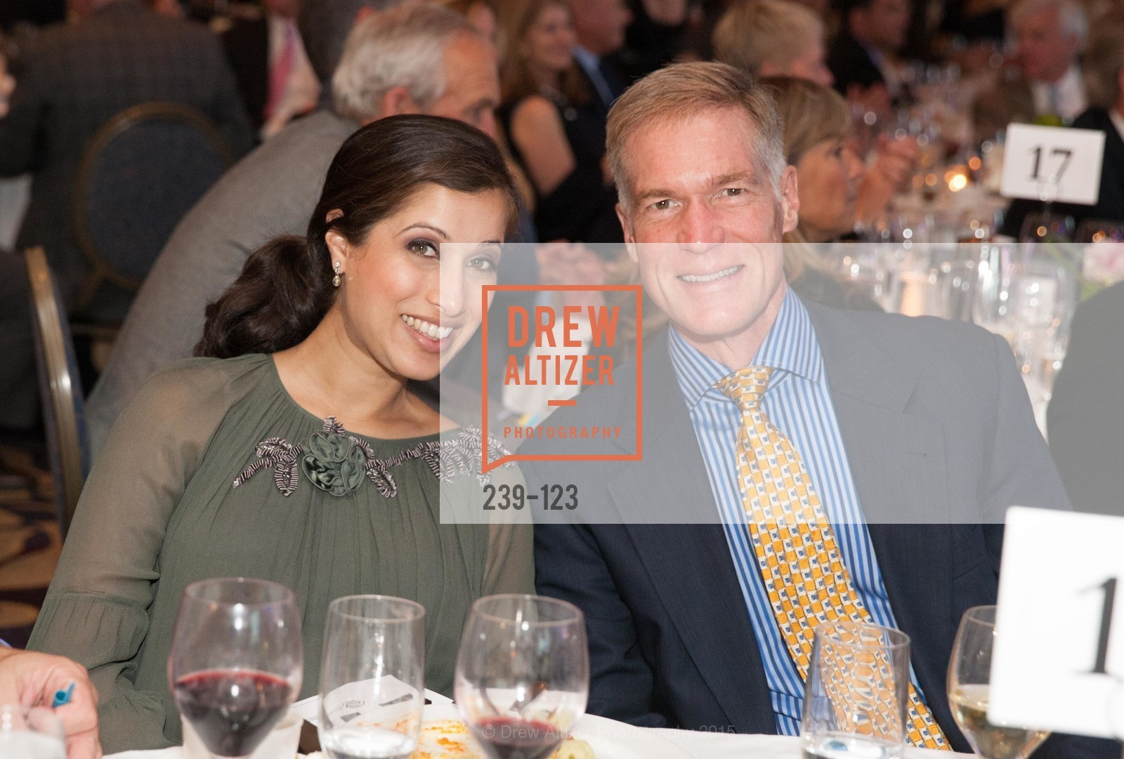 Angeli Jain, Bill Mellin, 2015 Boys and Girls Club Annual Gala, The Fairmont San Francisco. 950 Mason St, May 20th, 2015,Drew Altizer, Drew Altizer Photography, full-service agency, private events, San Francisco photographer, photographer california
