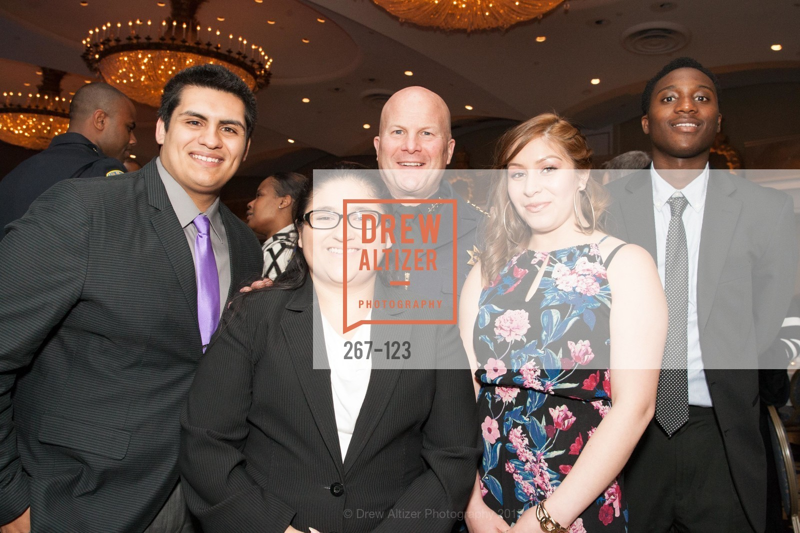 Joe Armijo, Carmen Sosa, Greg Suhr, Yuri Huerta, Khari Brown, 2015 Boys and Girls Club Annual Gala, The Fairmont San Francisco. 950 Mason St, May 20th, 2015,Drew Altizer, Drew Altizer Photography, full-service agency, private events, San Francisco photographer, photographer california