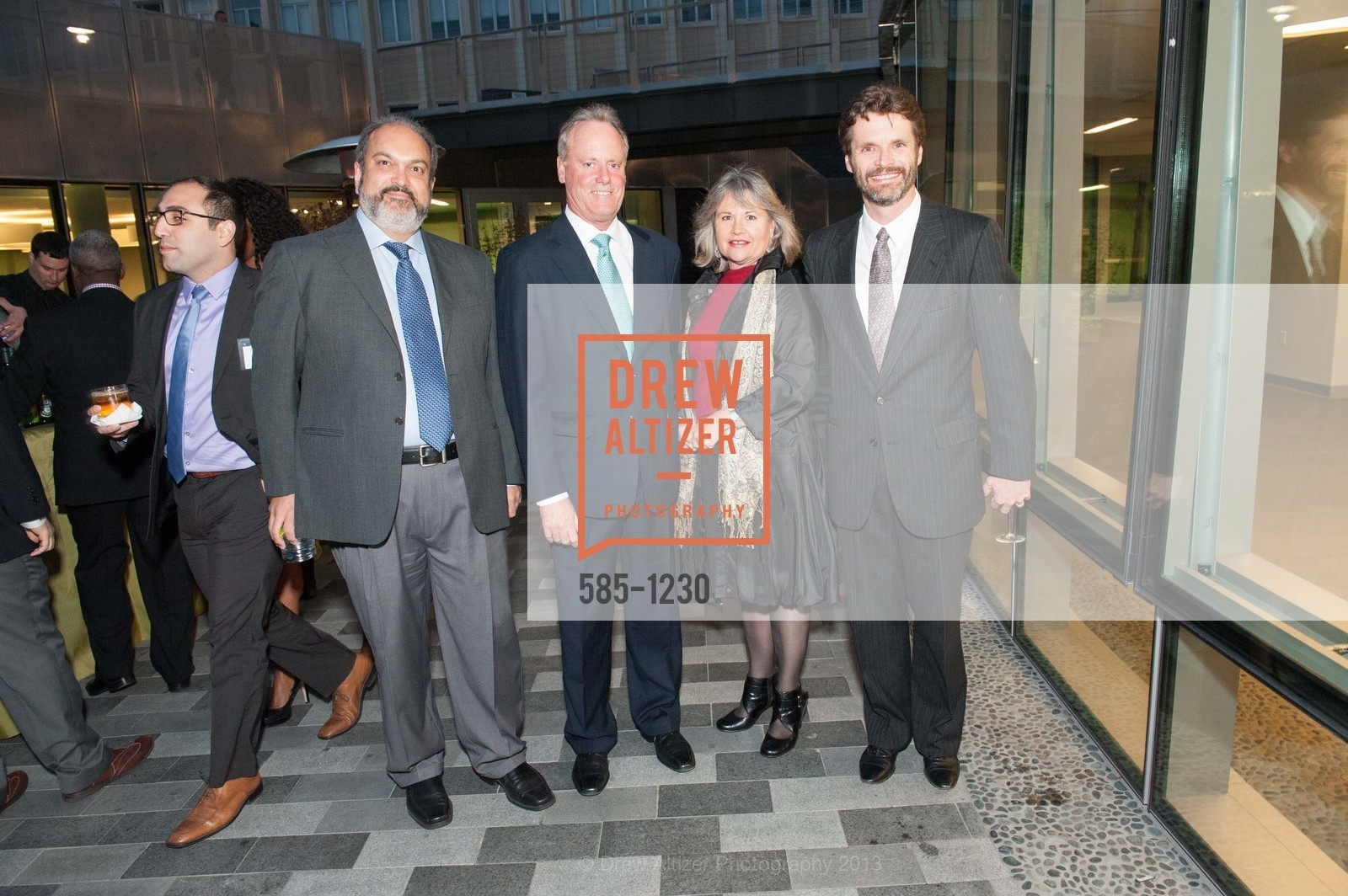 Marcelo Camperi, Charlie Cross, Gayle Ravens Croft, Patrick Murphy, Photo #585-1230