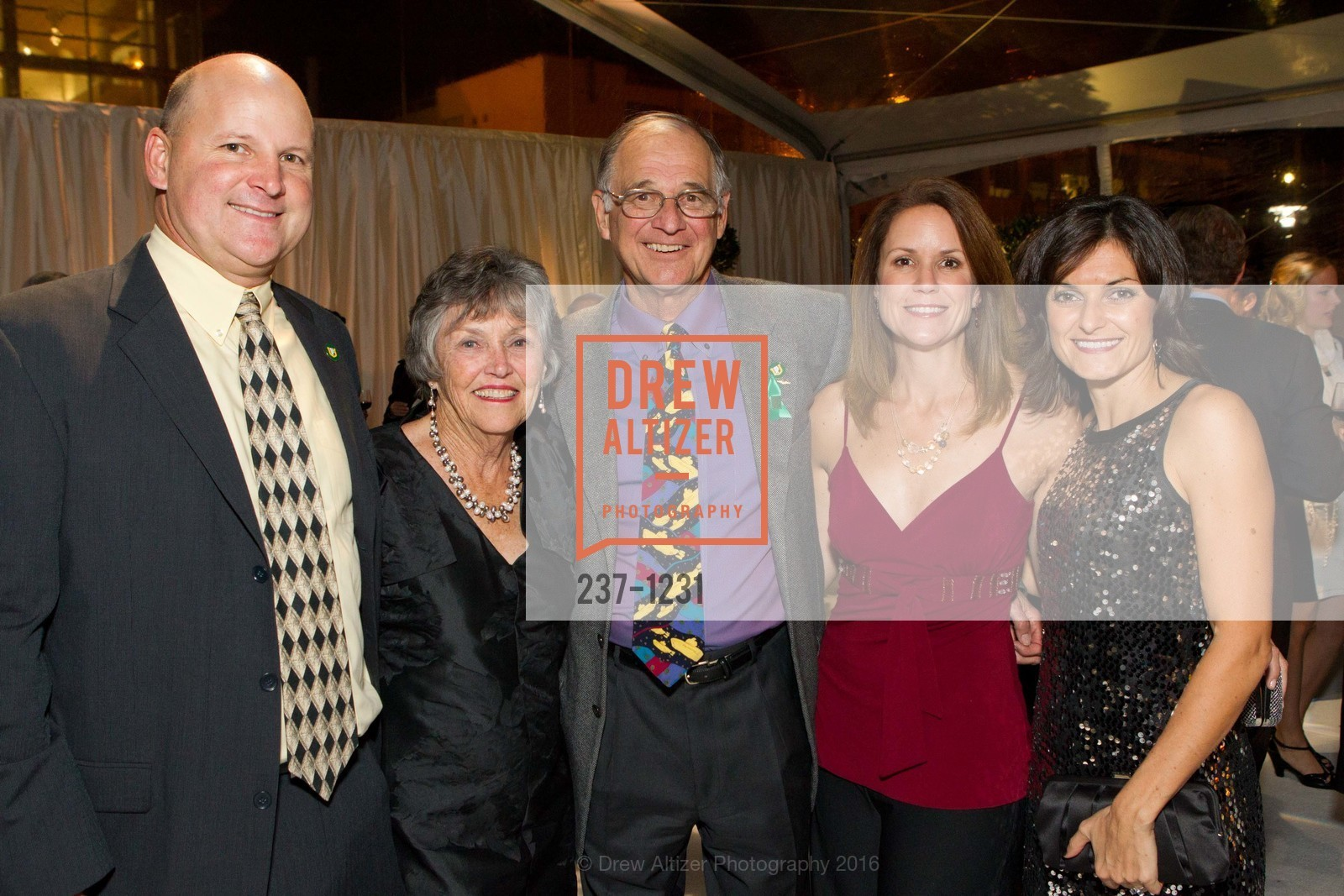 Jim Thompson, Claudia Salquist, Roger Salquist, Kathleen Thompson, Monica Salquist, Photo #237-1231