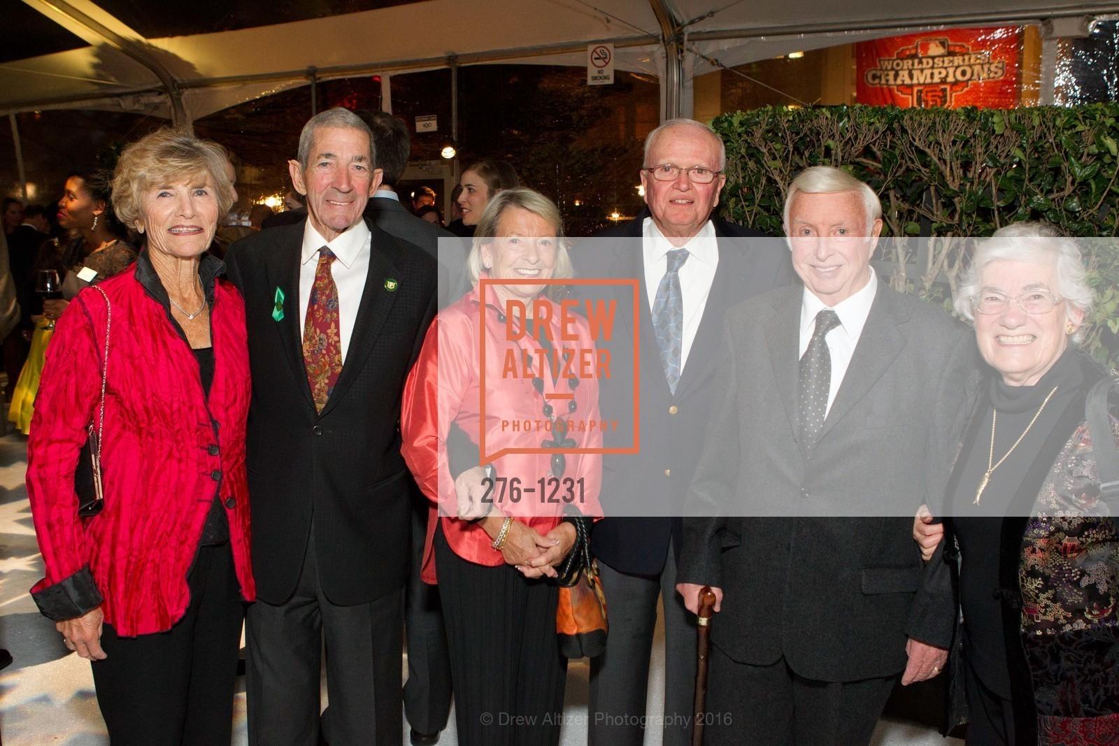 Toni Feehan, George Pasha, Jan Pasha, Don Feehan, John Foran, Costanza Foran, Photo #276-1231