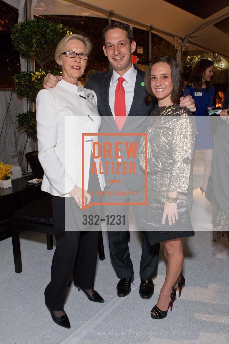 Barbro Osher, Daniel Lurie, Becca Prowda, Photo #382-1231