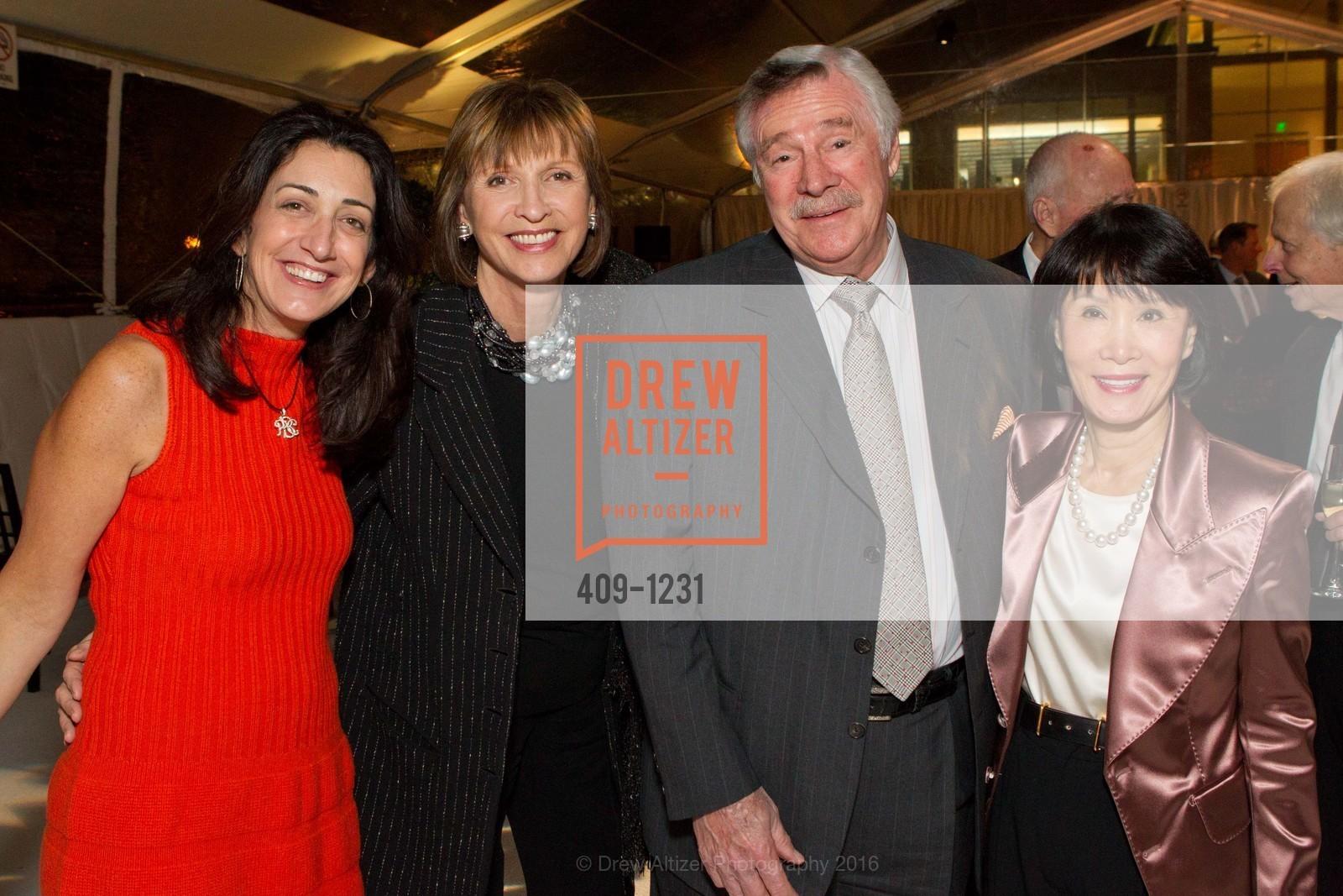 Pam Baer, Tina Frank, Jack Holland, Susan Koret, Photo #409-1231