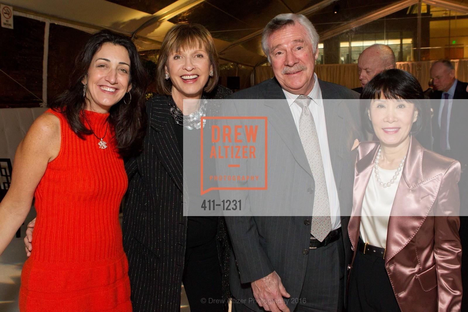 Pam Baer, Tina Frank, Jack Holland, Susan Koret, Photo #411-1231