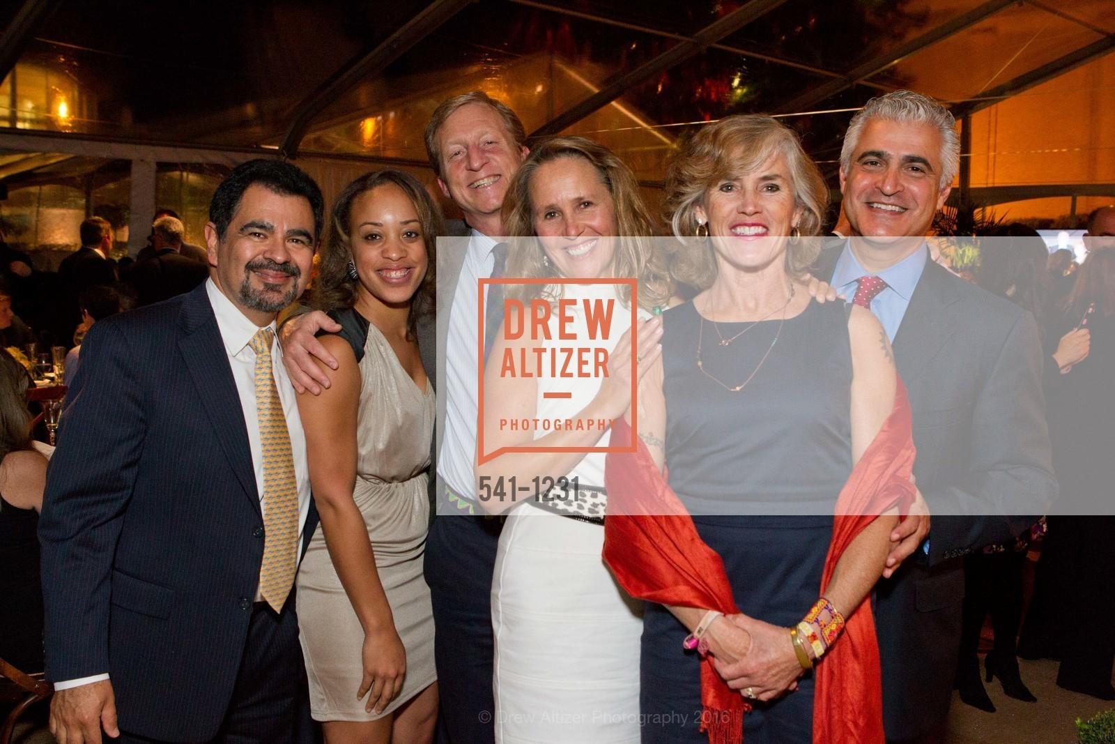 Salvador Menjibar, Andrea Walker, Tom Steyer, Michelle Skaff, Kat Taylor, Dan Skaff, Photo #541-1231