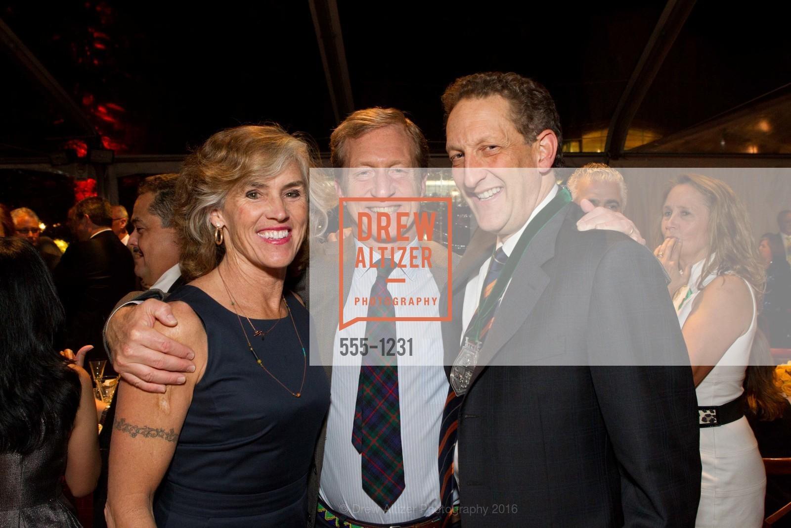 Kat Taylor, Tom Steyer, Larry Baer, Photo #555-1231