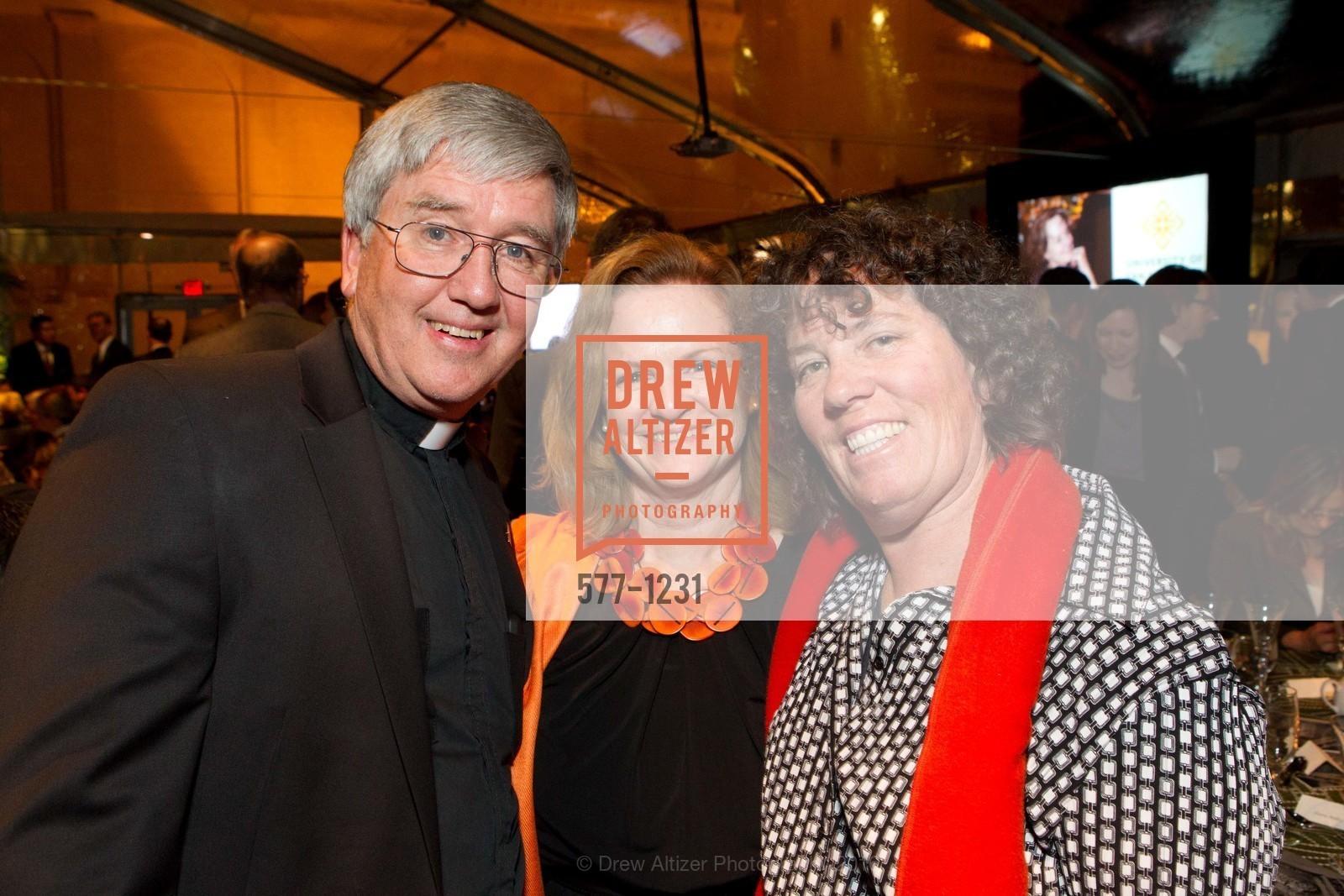 Father John Koeplin, Erin Doyle Ebeling, Tracey McNamara, Photo #577-1231