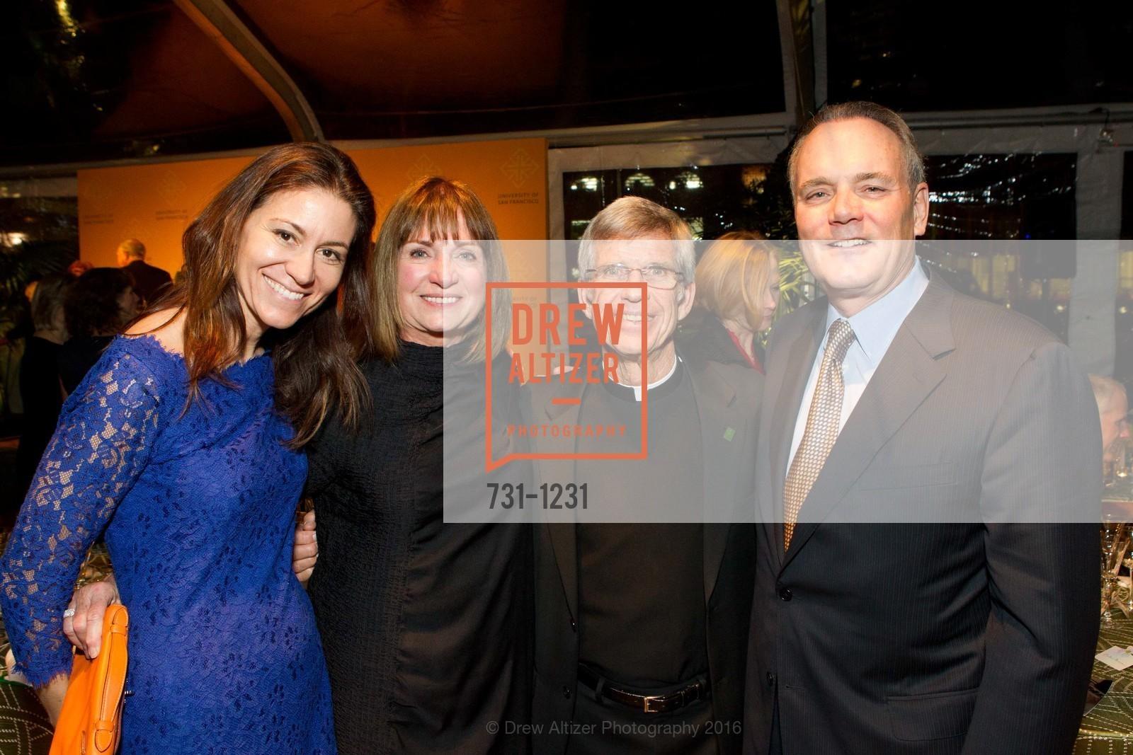 Michelle, Sue Marineau, Father Steve Privett, Phil Marineau, Photo #731-1231