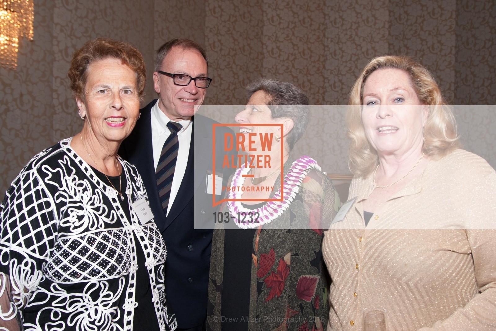 Linda Claridy, Glenn Loomis, Annette Anton, Dedee Sammut, Photo #103-1232