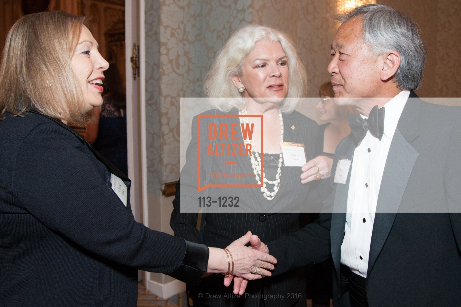 Carole Obley, Barbara Bechelli, Kevin Leong, Photo #113-1232