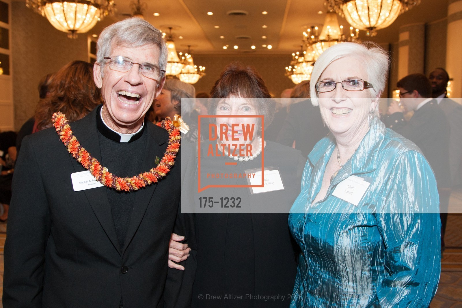 Father Stephen Privett, Malia MacKillop, Cathy Carroll, Photo #175-1232