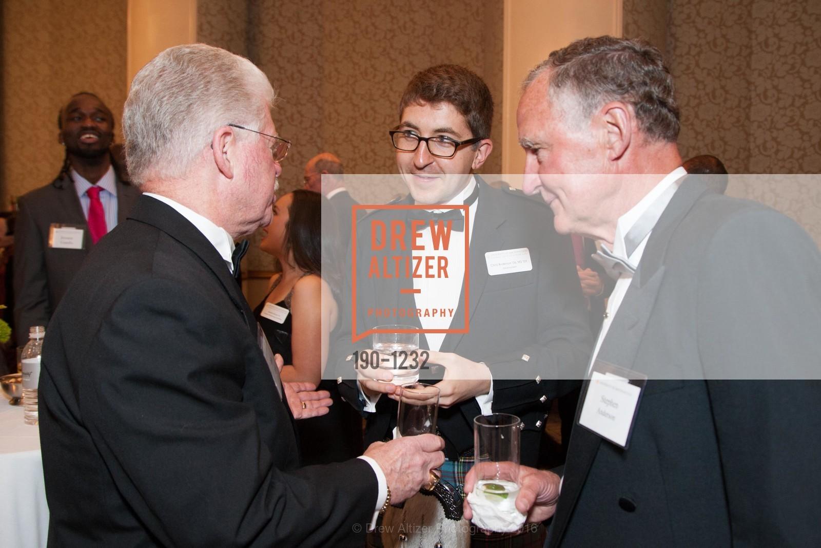 John Cahill, Chris Anderson, Stephen Anderson, Photo #190-1232