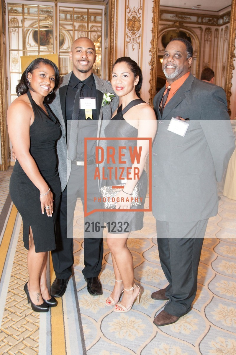 Toni Russell, LyRyan Russell, Azizza Jones, Rudolph Russell, Photo #216-1232