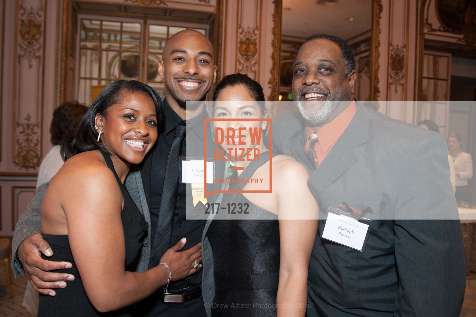 Toni Russell, LyRyan Russell, Azizza Jones, Rudolph Russell, Photo #217-1232