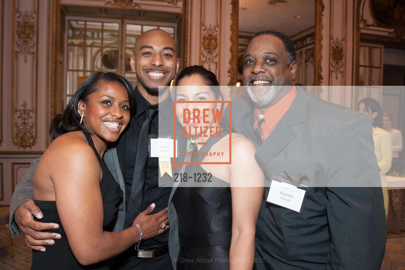 Toni Russell, LyRyan Russell, Azizza Jones, Rudolph Russell, Photo #218-1232