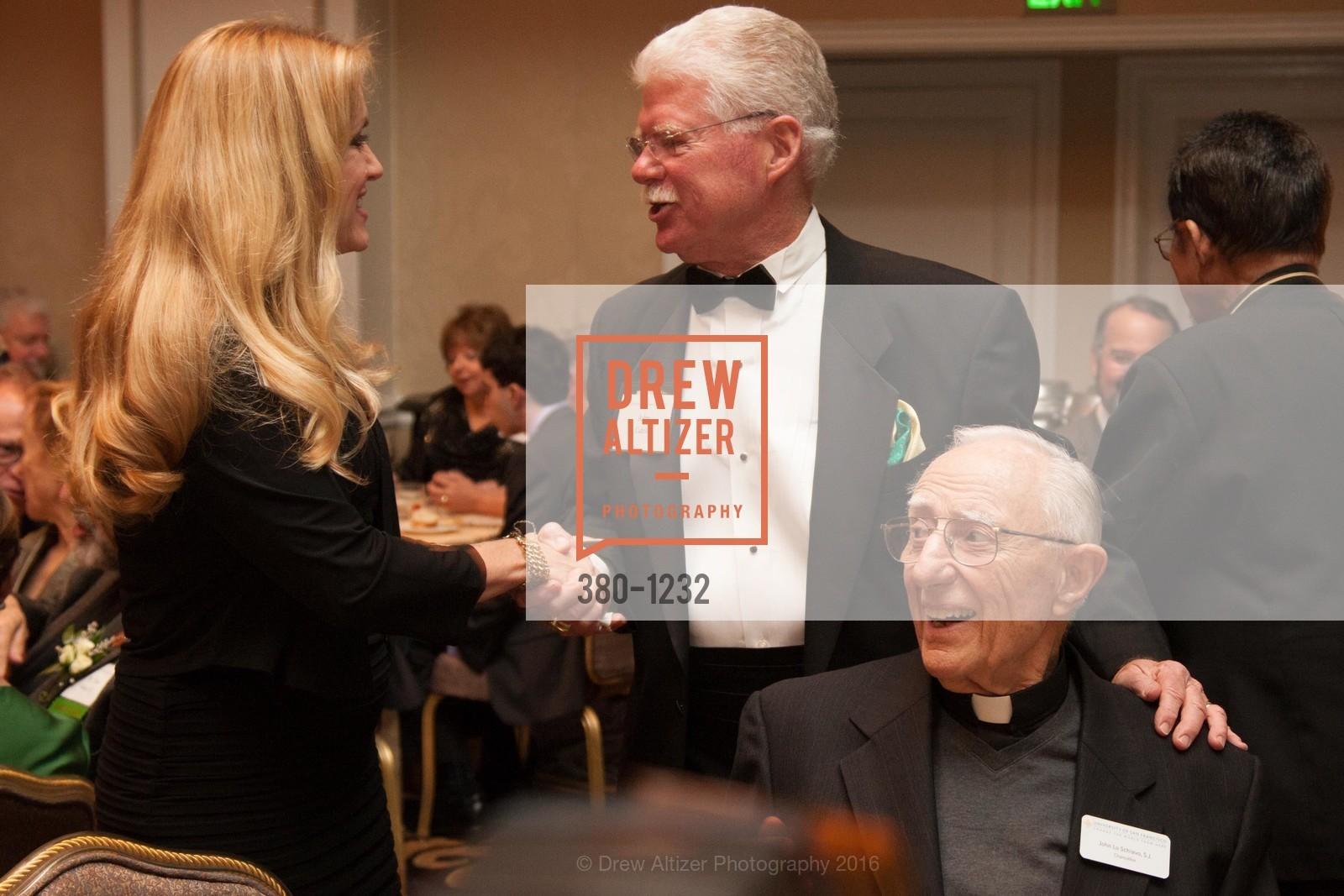 Jennifer Turpin, John Cahill, Father John LoSchiavo, Photo #380-1232