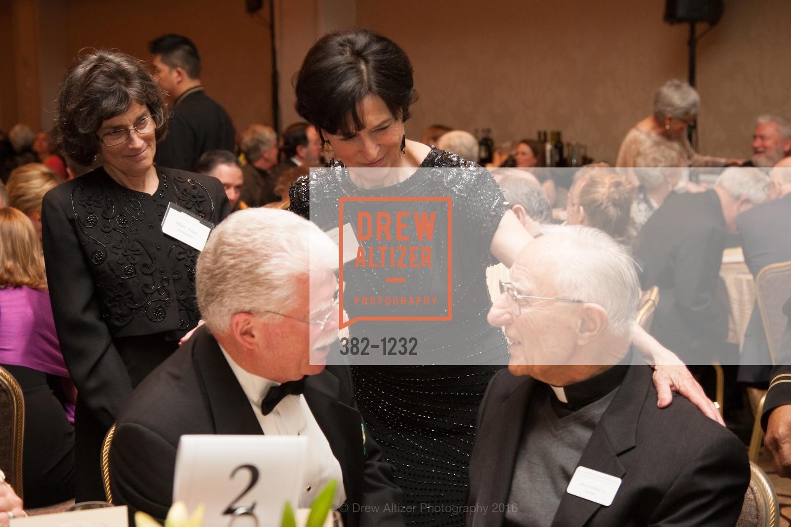 Mary Anne Anderson, John Cahill, JoAnn Cahill, Father John LoSchiavo, Photo #382-1232