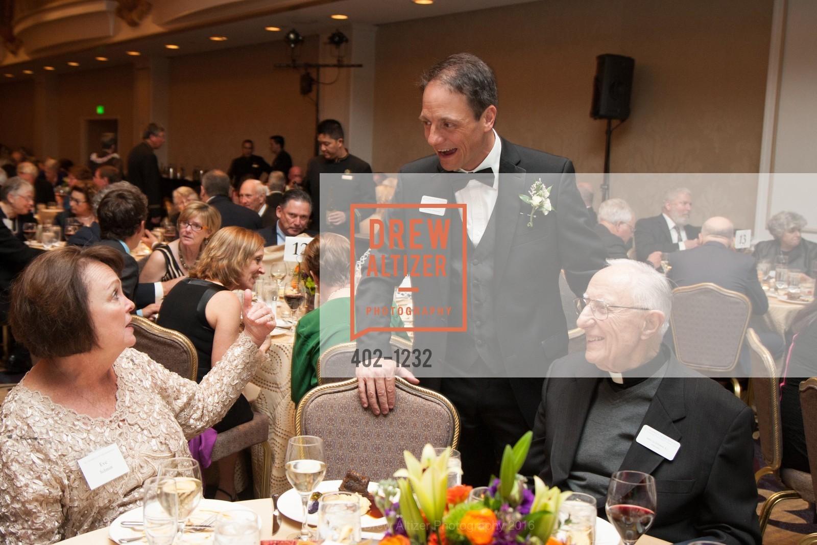 Eve Schmitt, Peter Wilch, Father John LoSchiavo, Photo #402-1232