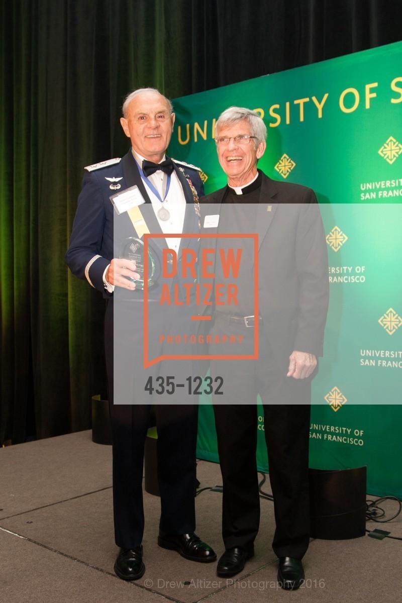 Major General Drennan Tony Clark, Father Stephen Privett, Photo #435-1232