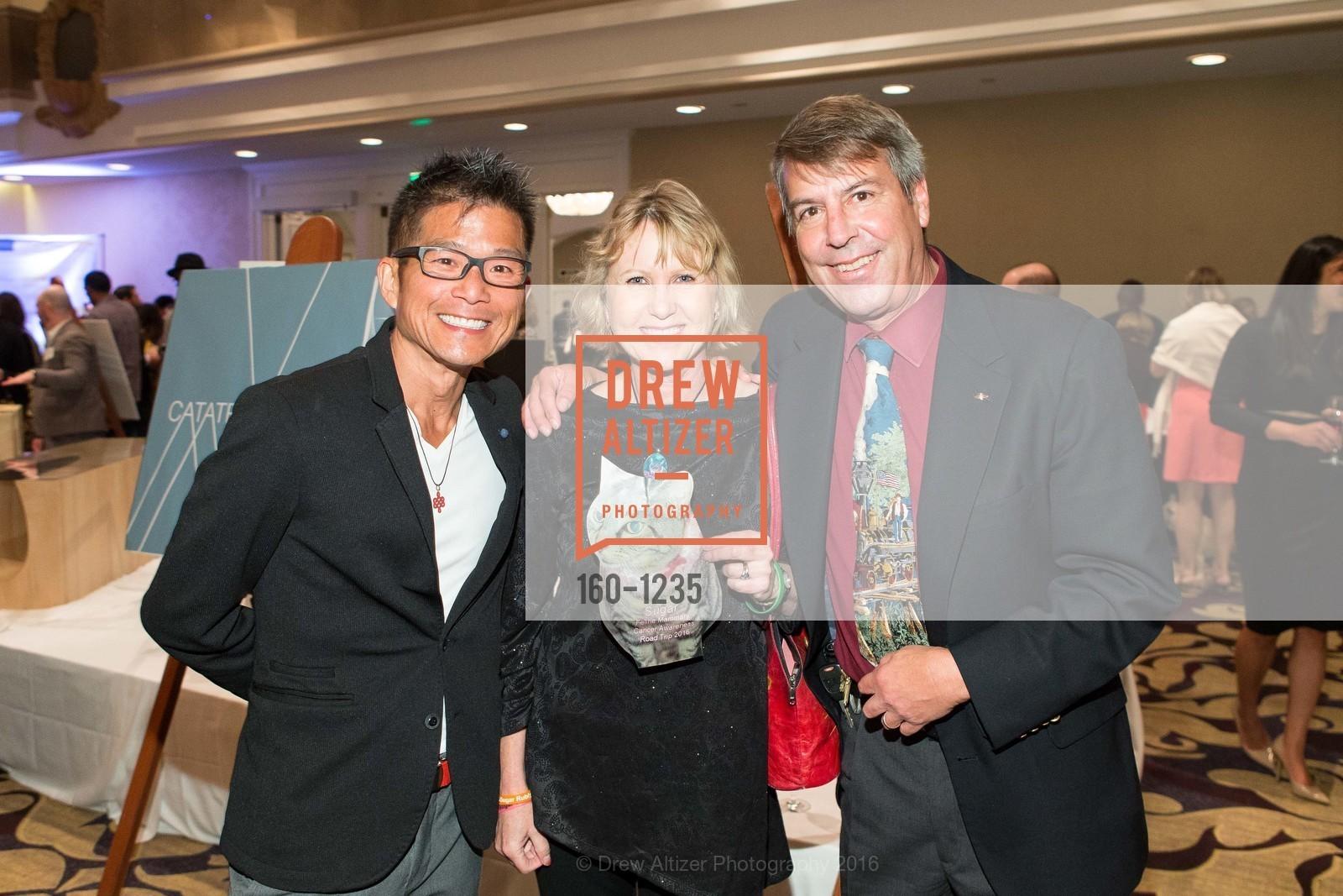 Calvin Lum, Jeanette Cereske, Bill Cereske, Photo #160-1235