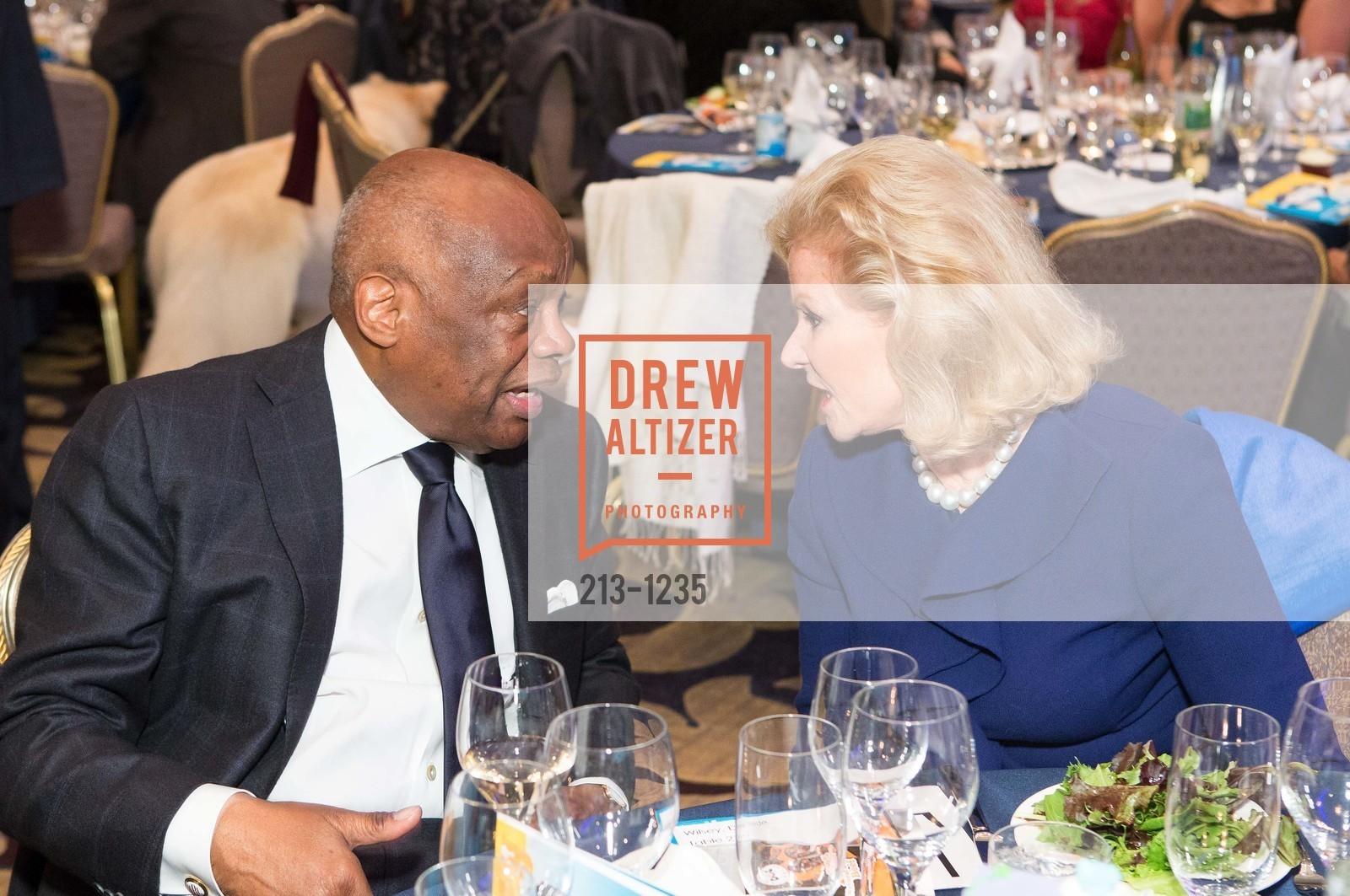 Willie Brown, Dede Wilsey, Photo #213-1235