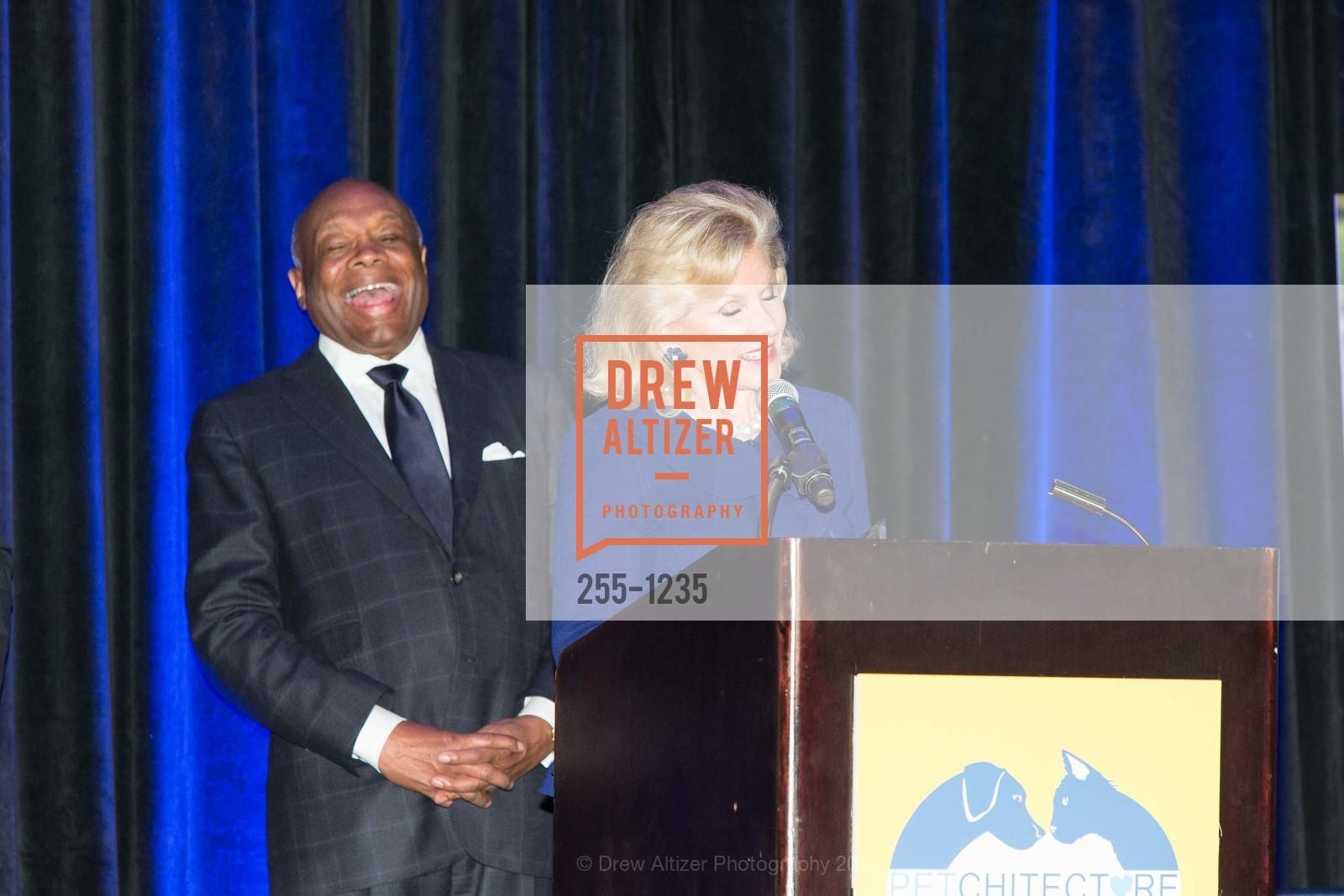 Willie Brown, Dede Wilsey, Photo #255-1235