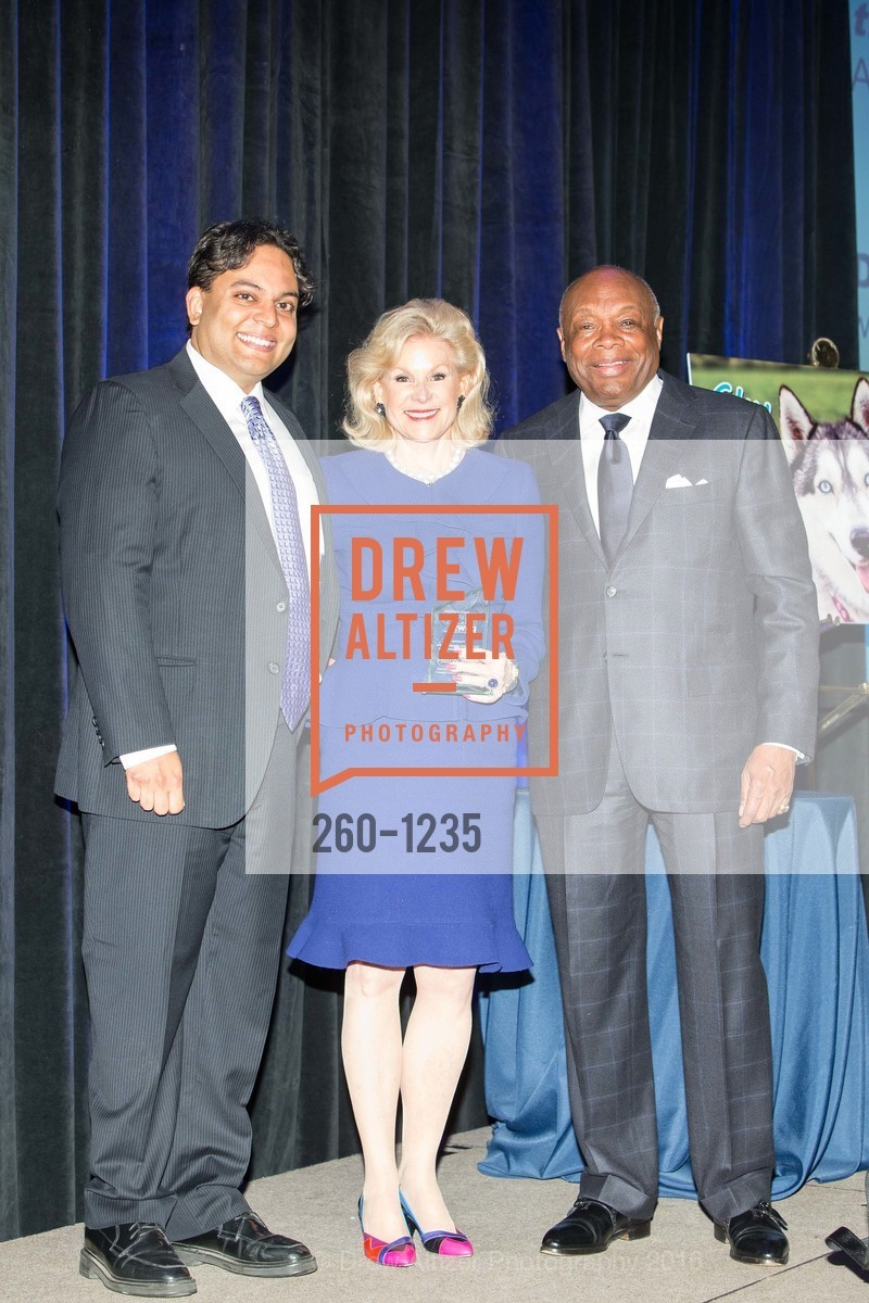 Kaushik Roy, Dede Wilsey, Willie Brown, Photo #260-1235
