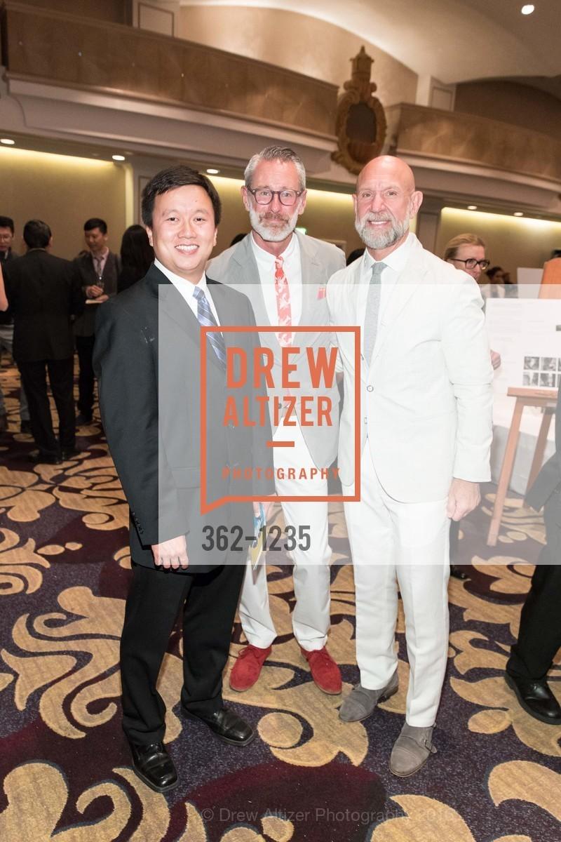 Alan Chang, Tim Averbeck, Frank Petkovich, Photo #362-1235