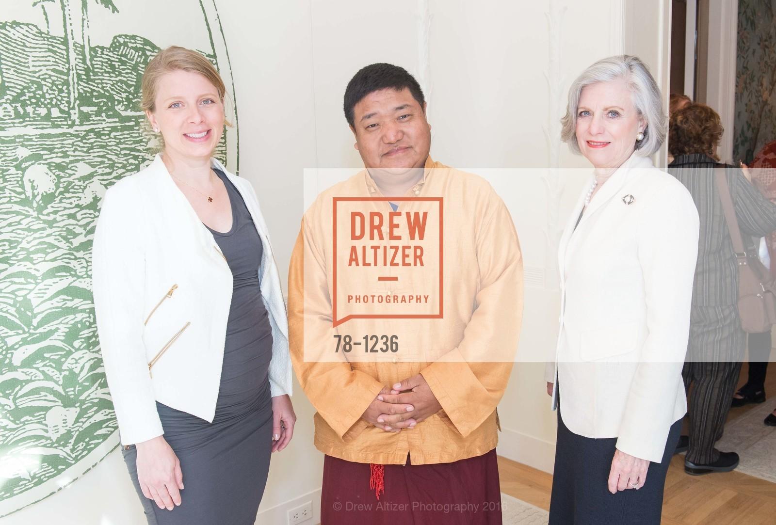 Lancey Gandy, Orgyen Chowang Rinpoche, Maureen Koeppel, Photo #78-1236