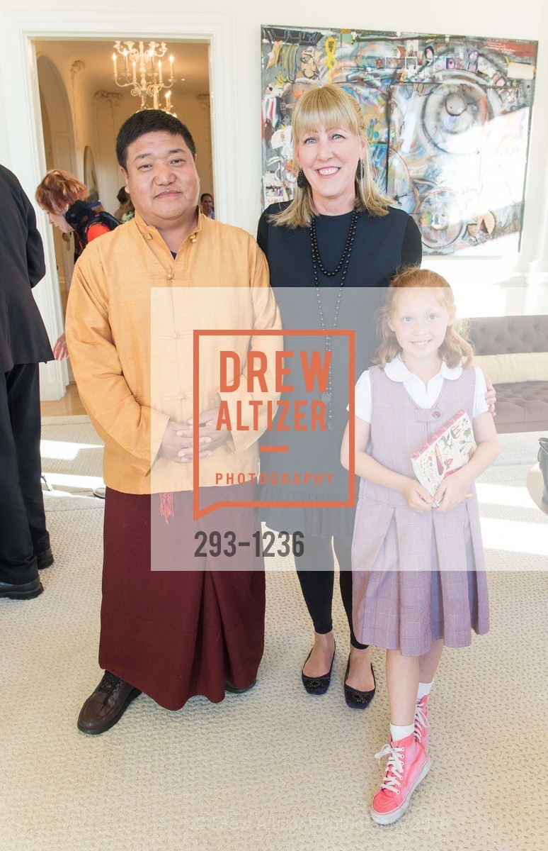 Orgyen Chowang Rinpoche, Sonja Perkins, Tess Perkins, Photo #293-1236