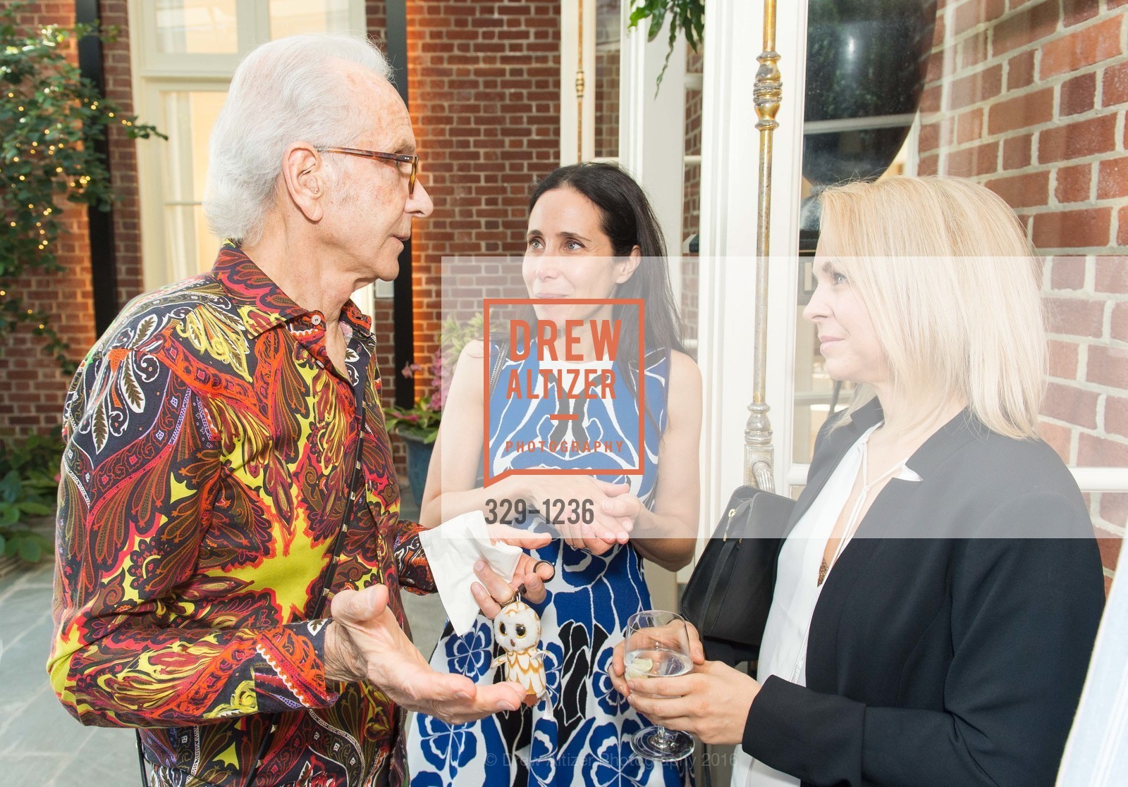 Norman Stone, Abigail Turin, Jennifer Boardman, Photo #329-1236