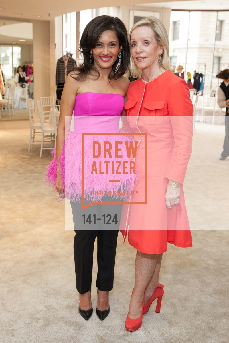 Komal Shah, Barbara Brown, Saks Fifth Avenue hosts the Peter Copping Personal Appearance, Saks Fifth Ave. 384 Post St, May 20th, 2015