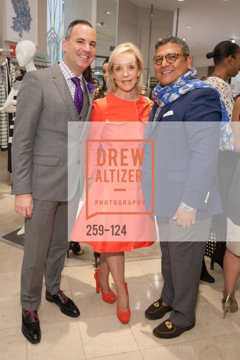 Robert Arnold-Kraft, Barbara Brown, Riccardo Benavides, Saks Fifth Avenue hosts the Peter Copping Personal Appearance, Saks Fifth Ave. 384 Post St, May 20th, 2015,Drew Altizer, Drew Altizer Photography, full-service agency, private events, San Francisco photographer, photographer california