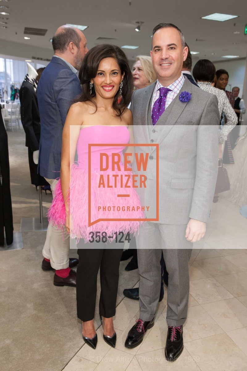 Komal Shah, Robert Arnold-Kraft, Saks Fifth Avenue hosts the Peter Copping Personal Appearance, Saks Fifth Ave. 384 Post St, May 20th, 2015,Drew Altizer, Drew Altizer Photography, full-service agency, private events, San Francisco photographer, photographer california