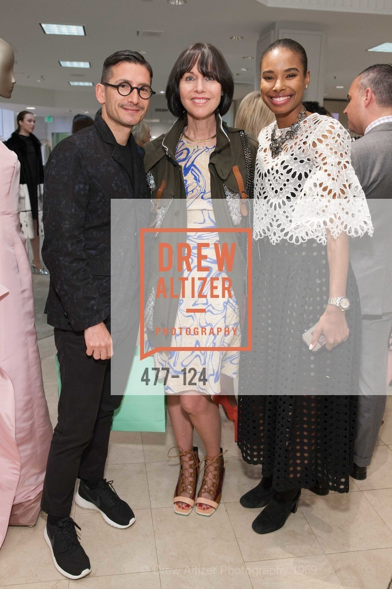 Rambert Rigaud, Christine Suppes, Tyler Blake, Saks Fifth Avenue hosts the Peter Copping Personal Appearance, Saks Fifth Ave. 384 Post St, May 20th, 2015,Drew Altizer, Drew Altizer Photography, full-service event agency, private events, San Francisco photographer, photographer California