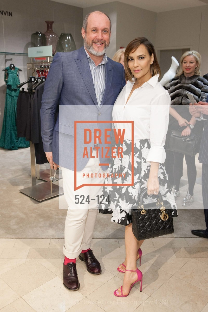 Peter Copping, Lora DuBain, Saks Fifth Avenue hosts the Peter Copping Personal Appearance, Saks Fifth Ave. 384 Post St, May 20th, 2015