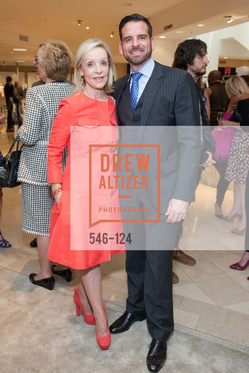 Barbara Brown, Ryan Williams, Saks Fifth Avenue hosts the Peter Copping Personal Appearance, Saks Fifth Ave. 384 Post St, May 20th, 2015