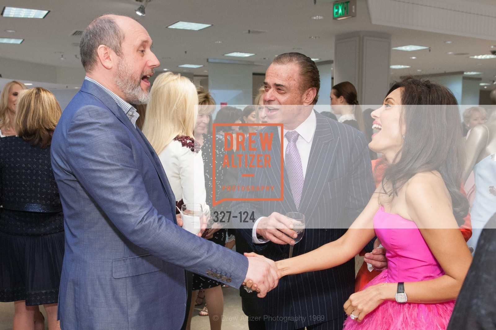 Peter Copping, Boaz Mazor, Komal Shah, Saks Fifth Avenue hosts the Peter Copping Personal Appearance, Saks Fifth Ave. 384 Post St, May 20th, 2015