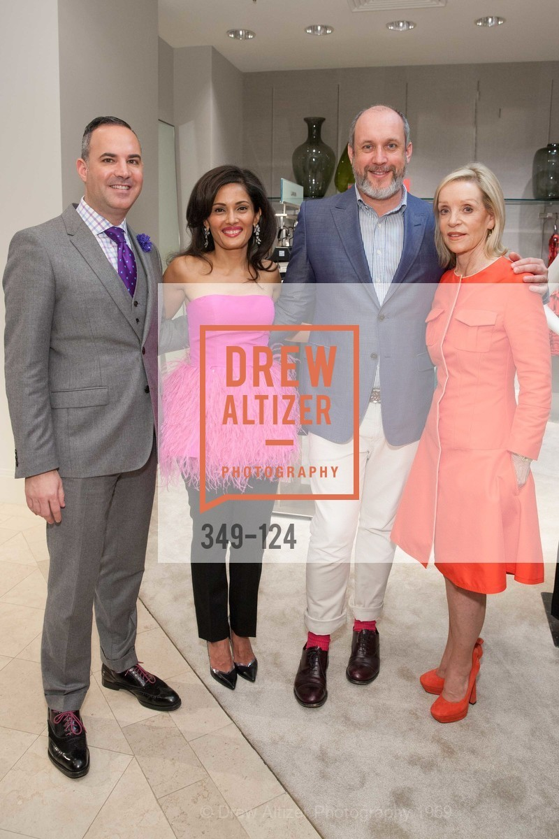 Robert Arnold-Kraft, Komal Shah, Peter Copping, Barbara Brown, Saks Fifth Avenue hosts the Peter Copping Personal Appearance, Saks Fifth Ave. 384 Post St, May 20th, 2015,Drew Altizer, Drew Altizer Photography, full-service agency, private events, San Francisco photographer, photographer california