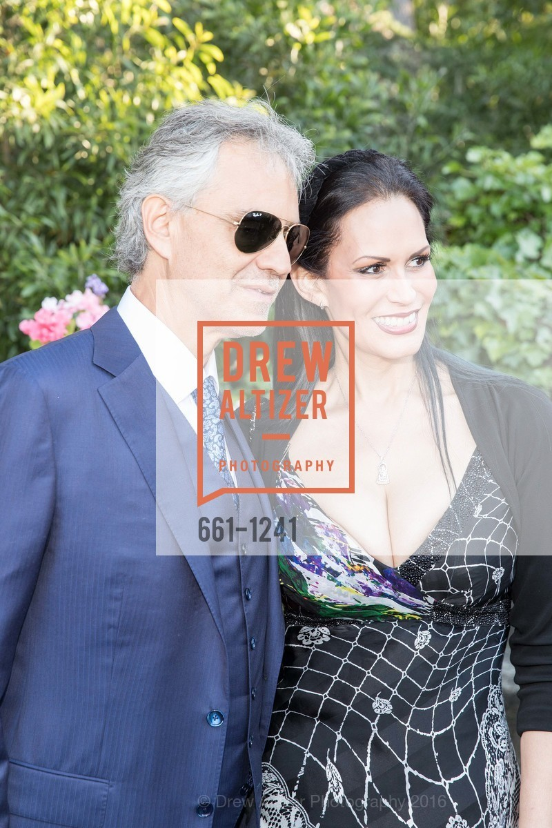 Andrea Bocelli, Carla Ferrer, Photo #661-1241