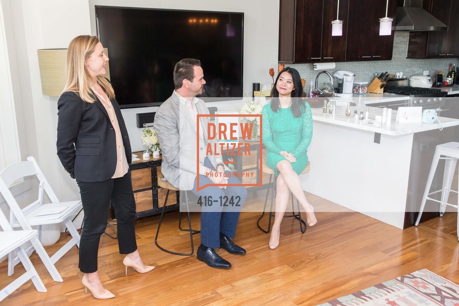 Lauren Murrow, Clyde Johnson, Michelle Lam, Photo #416-1242
