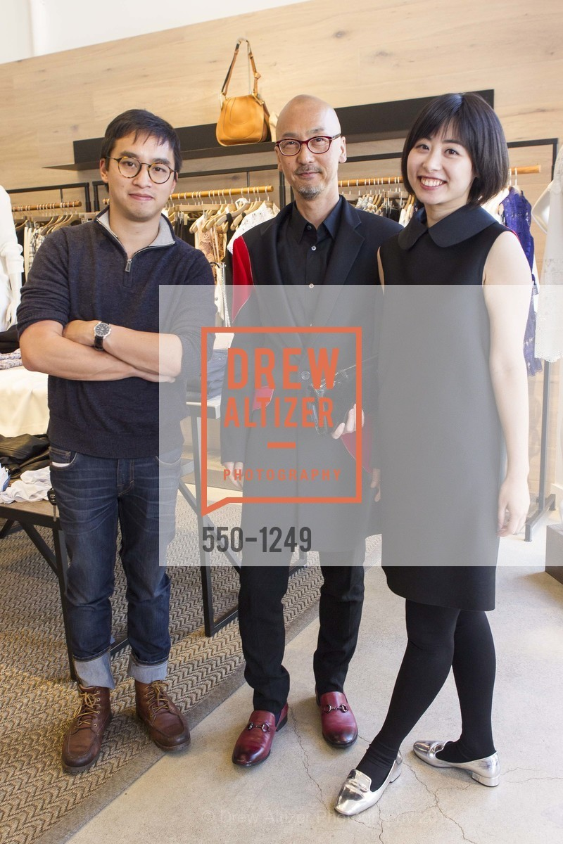 Richard Van, Yuji Fukuyama, Yuka Uehara, Photo #550-1249