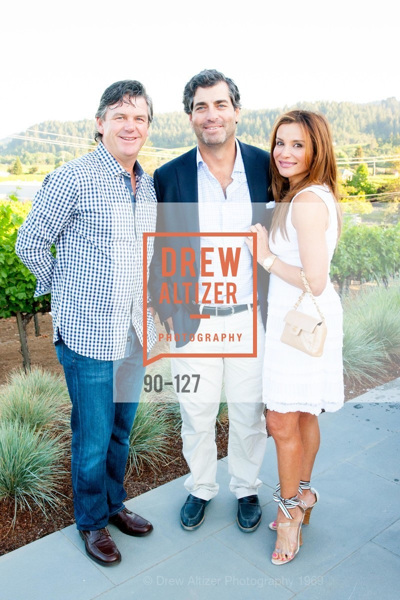Gary Breen, Keith Ross, Claudia Ross, An Evening in the Vineyard hosted by JACK CALHOUN & TRENT NORRIS, Jack Calhoun & Trent Norris Vineyard. 3393 Dry Creek Road, Healdsburg CA 95448, May 22nd, 2015,Drew Altizer, Drew Altizer Photography, full-service agency, private events, San Francisco photographer, photographer california